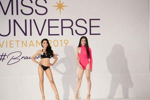 Trình diễn bikini bốc lửa tại vòng sơ khảo Hoa hậu Hoàn vũ Việt Nam