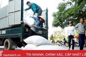 Chính phủ cấp 1.000 tấn gạo hỗ trợ nhân dân vùng lũ Hà Tĩnh
