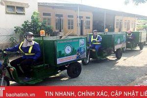 TP Hà Tĩnh thí điểm phân loại rác thải tại nguồn ở 4 phường trung tâm