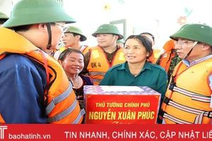 Phó Thủ tướng Vương Đình Huệ: Khôi phục sản xuất, giúp dân ổn định cuộc sống sau khi nước lũ rút