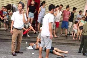 Hộp quà phát nổ tại quán nước chung cư Linh Đàm, nhiều người bị thương