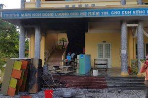 Cháy trường mầm non, sơ tán kịp thời gần 120 trẻ nhỏ