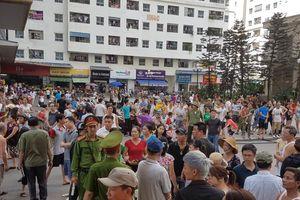 Hàng nghìn người dân Linh Đàm hốt hoảng sau tiếng nổ, ít nhất 4 người bị thương