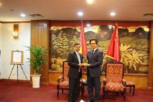 Việt Nam là trụ cột mạnh mẽ trong chính sách hướng Đông của Ấn Độ