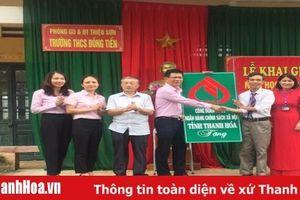 Ngân hàng CSXH Thanh Hóa trao 130 xe đạp cho học sinh nghèo vượt khó
