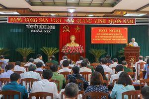 Kết quả học và làm theo Bác ở Bình Định