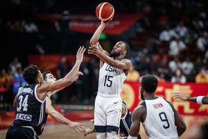 Tổng kết ngày thi đấu 7/9 FIBA World Cup 2019: Mỹ đại thắng Hy Lạp, Pháp và Úc ghi danh vào vòng sau