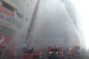 Diễn tập cứu nạn tại tòa nhà cao 35 tầng có trung tâm thương mại