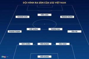 HLV Hiddink bất lực nhìn học trò thua U22 Việt Nam