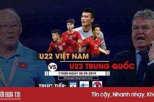 U22 Việt Nam đấu U22 Trung Quốc: Xem trực tiếp trên kênh nào?