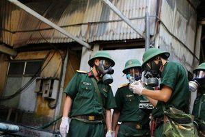 Viện Hóa học Môi trường Quân sự đã có kết quả phân tích mẫu vật vụ cháy nhà máy Rạng Đông