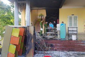 Cháy trường mầm non ở Quảng Trị, kịp thời sơ tán an toàn 118 học sinh