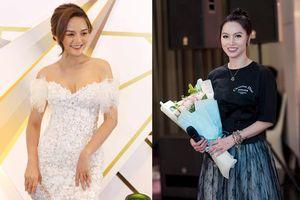 Diễn viên Thu Quỳnh và MC Minh Hà tươi cười 'đứng chung khung hình' sau nhiều lần né tránh
