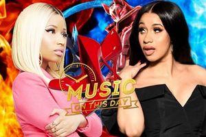 Ngày này 1 năm trước, trận 'combat' bằng giày cao gót giữa Nicki Minaj và Cardi B đã đi vào lịch sử làng nhạc thế giới