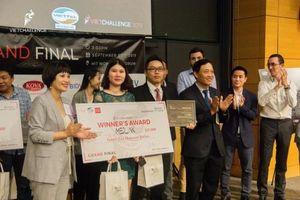 Startup Việt Nam vô địch Vietchallenge 2019 - Medlink