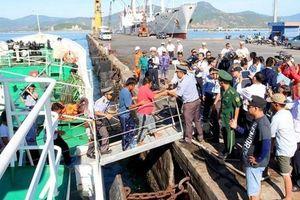 41 ngư dân Quảng Nam được cứu sống sau 48 giờ lênh đênh trên biển