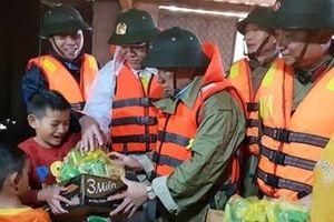 Công an tỉnh Hà Tĩnh: Tình người vùng tâm lũ