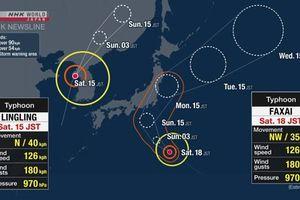 Bão Faxai đổ bộ Nhật Bản, nhiều dịch vụ giao thông bị đình trệ