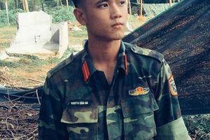 Hotboy 9X trường quân sự 'siêu cấp đẹp trai' nhiều tài lẻ