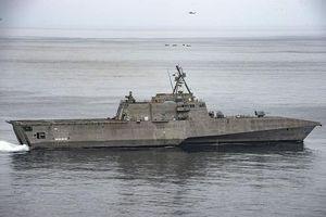 Tàu chiến ven bờ Mỹ mang tên lửa cực mạnh tới trực tuần tra tại Biển Đông