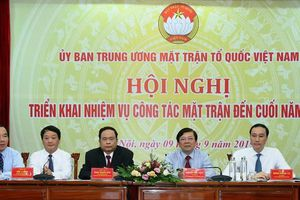 Đại hội toàn quốc MTTQ Việt Nam sẽ là đại hội 'không giấy'