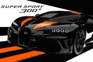 Vua tốc độ Chiron Super Sport 300+ lộ diện, chỉ sản xuất 30 chiếc