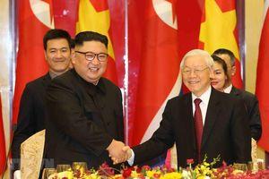 Tổng bí thư, Chủ tịch nước gửi điện mừng quốc khánh ông Kim Jong Un