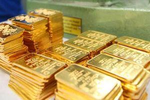 Giá vàng SJC giảm mạnh, ngược chiều vàng thế giới