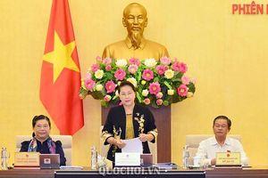 Ủy ban Thường vụ Quốc hội khai mạc phiên họp thứ 37