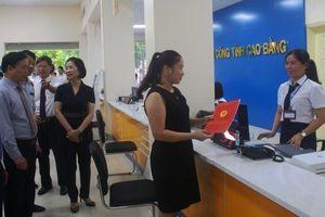 Khai trương Trung tâm Phục vụ hành chính công Cao Bằng