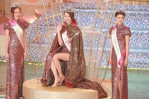 'Tiểu Quách Khả Doanh' đăng quang Hoa hậu Hồng Kông 2019