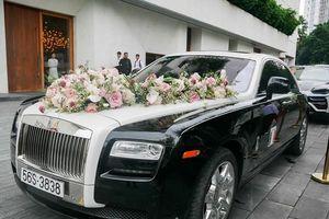 'Bóc' giá loạt siêu xe trong đám cưới ái nữ đại gia Minh Nhựa