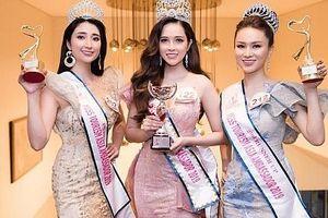 Đại sứ áo dài Lê Bảo Tuyền xuất sắc đăng quang Hoa hậu Đại sứ Du lịch Châu Á 2019