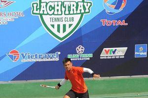 Lý Hoàng Nam tái xuất tại giải quần vợt VTF Masters 500 ở Hải Phòng