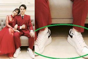 Khoe ảnh cưới bên Đông Nhi, Ông Cao Thắng bị fan bắt lỗi: 'Anh mượn giày ai thế?'