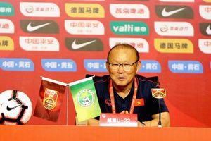 HLV Park nói lời khiêm tốn sau khi đả bại U22 Trung Quốc của Guus Hiddink