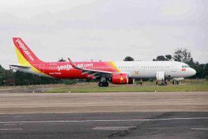 Ảnh hưởng của bão Faxai, một số chuyến bay của Vietjet thay đổi thời gian khởi hành