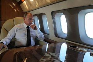 Hé lộ khâu chuẩn bị thức ăn cho Tổng thống Putin trên máy bay