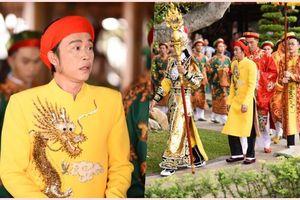 NSƯT Hoài Linh diện áo dài khăn đóng, nghiêm trang cúng Tổ nghiệp tại nhà thờ trăm tỷ
