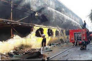 Thủ tướng 'lệnh' Chủ tịch Hà Nội khẩn trương khắc phục hậu quả vụ cháy Rạng Đông