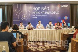 Mạng xã hội Lotus 'made in Vietnam' sẽ ra mắt vào 16/9