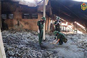Bộ Tư lệnh Hóa học lấy 23 mẫu môi trường sau vụ cháy Công ty Rạng Đông