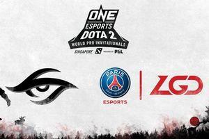 ONE Esports công bố giải đấu Dota 2 đầu tiên với sự góp mặt của PSG.LGD và Team Secret