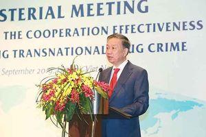 Tuyên bố chung nâng cao hiệu quả hợp tác đấu tranh phòng, chống tội phạm ma túy xuyên quốc gia