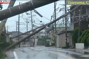 Siêu bão Faxai gây nhiều thương vong tại Nhật Bản �