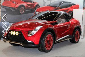 Hãng Đài Loan ra mắt xe concept pha trộn thiết kế Nissan với logo Audi