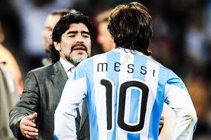 Diego Maradona hài hước kể chuyện dạy Messi đá phạt