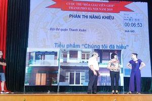 Sôi nổi hội thi 'Hòa giải viên giỏi' TP Hà Nội