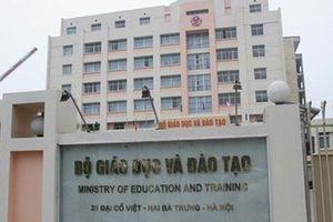 Bộ GD-ĐT hủy quyết định xem xét kỷ luật 13 công chức liên quan đến gian lận thi cử