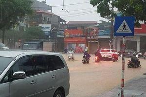 Thái Nguyên: 307 trường phải cho học sinh nghỉ học do mưa lũ